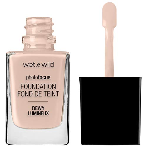 wet n wild Photo Focus Dewy Foundation, Rose Ivory, 1.06 Ounces
