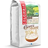 32 Ounce (2 LB) Non-Gmo Single Origin Colombia Dark Roast Whole Bean Coffee, Notes - Dark Chocolate Toffee Blackberry, CoffeaFarms by Coffeeland