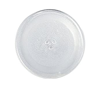 Supco MW014A Microwave Glass Turntable Cook Tray 12.7 x 12.5 x 1 Inch Replaces W10337247 3390W1G014A