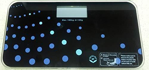 NewlineNY 700 Series Mini Travel Digital Bathroom Scales (no Sleeve) (Trendy Wave)