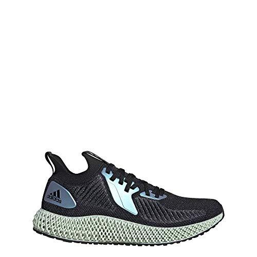 adidas Originals Alphaedge 4d Zapatillas de correr para hombre, Negro (Núcleo negro/azul brillante/morado universitario.), 41 EU