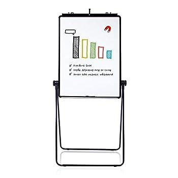 VIZ-PRO Eco Magnetic U-Stand Whiteboard/Flipchart Easel Black