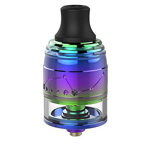Vapefly Galaxies MTL Squonk RDTA flavor vaporizer fit squonk box mod with BF pin Kein Nikotin, keine E-Flüssigkeit (Regenbogen)