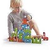 TUMAMA Stacking Games Juguetes Montessori Bloques de Equilibrio de Animales para niños pequeños apilables educativos de Alto Bloque de construcción de 3, 4, 5, 6 años, Adultos, niños y niñas 15pcs