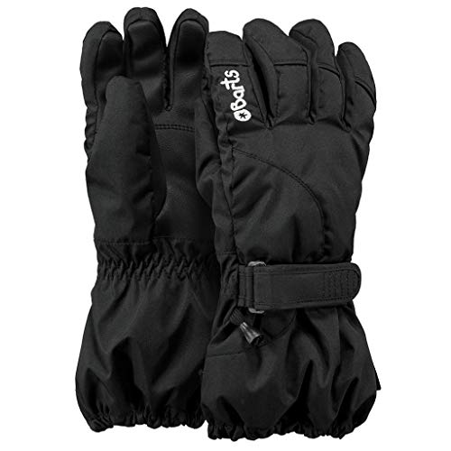 Barts Jungen Handschuhe Schwarz (Schwarz) 5 (8-10yrs)