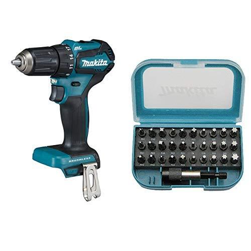 Makita DDF483Z drill Sin llave + Makita P-73374 punta de destornillador