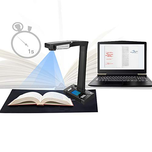 Great Features Of Remote Control Smart Book/Document Scanner, 1800W Pixel,A3, Model: E-Scan 180plus