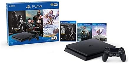 Sony Playstation 4 1TB Holiday Bundle (Last of Us, God of War, Horizon Zero Dawn)