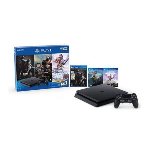 Sony Playstation 4 1TB Holiday Bundle (Last of Us, God...