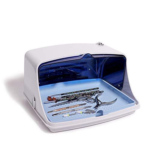 FGHTL UV Sterilizzatore Cleaner Box, Ultravioletta Germicida Lampada di Sanificazioneper sterilizzatore a Luce Ultravioletta Strumenti per Smartwatches, Cuffie, Chiavi
