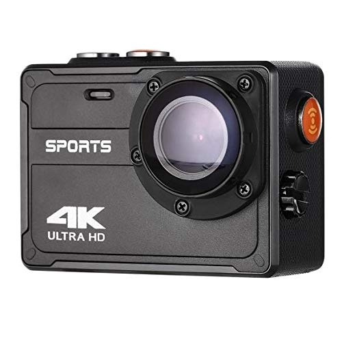 Vmotal Action Camera 4K WiFi Sports Action Camera Waterproof Cam 16MP 150° Wide Angle Underwater Digital Camera Rechargeable DV Camcorder