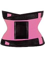 Fenteer Waist Trainer bel şekillendirici karın kaldırıcı kadın erkek spor yelek göbek eritme kemeri vücut şekillendirici