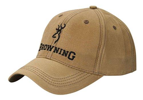 Browning Erwachsene LITE WACHSKAPPE KAKI EINE GRÖSSE Kappe, beige, One Size