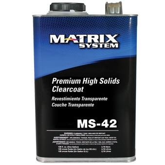 Matrix System MS-42-G Premium High Solids Clearcoat (Clear Only)