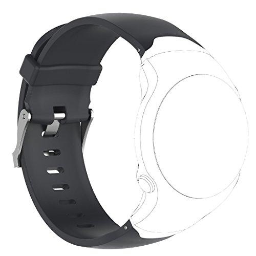 Silicone Remplacement Accessoire Bande Bracelet de Montre pour Garmin Approach S2//S4 YEFOD Garmin Approach S2//S4 Bracelet