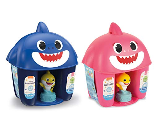 Clemmy Cubo Baby Shark Personajes, Surtidos (Clementoni 17425)