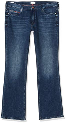 Tommy Jeans Mujer Tj 1979 Mid Rise Bootcut Dsymd Straight Jeans, Azul (Denim A), W34/L32