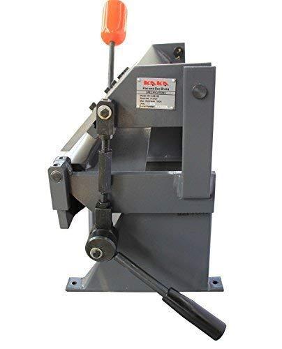 KAKA Industrial W-2416Z 24-Inch Sheet Metal Brake, Solid Construction, High Cutting Precision Pan and box Brake