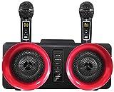 Kettles Juego de micrófono inalámbrico Dual de micrófono.UHF Cápsula dinámica de Frecuencias for la Iglesia del Partido Karaoke DJ Reunión de la Boda en casa KTV Establecer Eventos al Aire Libre