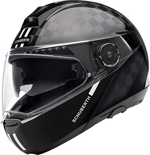 SCHUBERTH Unisex C4 PRO Carbon Helm, Fusion White Glos, 59 (L)