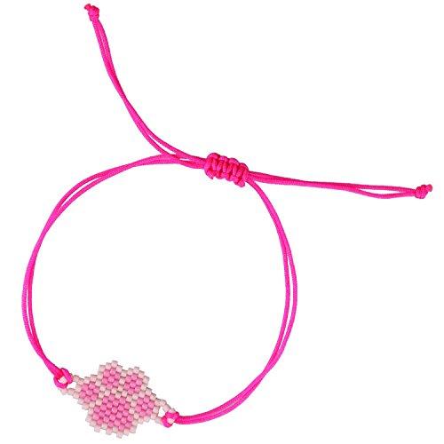 C·QUAN CHI handverpackte geflochtene geflochtene Freundschaft Armband Katze Klaue gemischte Samen Perlen geflochtenen Armband Strand Neue Damen und Herren Schmuck Geschenke