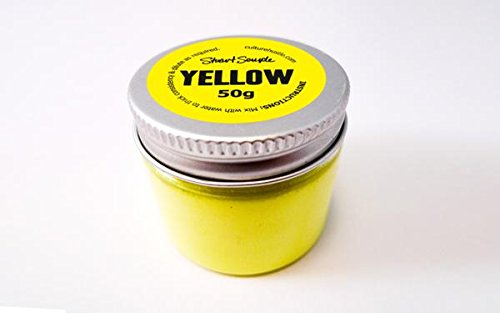 El mundo del yellowest amarillo–50G en polvo pintura por Stuart Semple