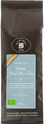 Paulsen Tee Tee-Raritäten Bio White Pai Mu Tan 100g
