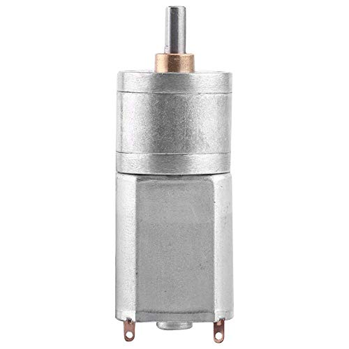 Motor de engranaje turbo de alto par motor DC 12V caja de cambios de reducción de velocidad de metal total eléctrica 15/30/50/100 / 200RPM (12V 15RPM)