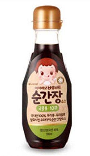 [ivenet] baby salt pure salt baby soy sauce broth baby sesame oil (Baby/Kids Soy Sauce [Broth])