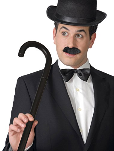 Guirca Fiestas GUI18426 Canne Charlie Chaplin 80 cm