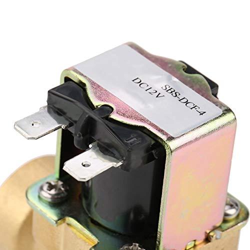 Válvula de solenoide NC, válvula de solenoide, tuberías de 12 V CC para aplicaciones de suministro de agua