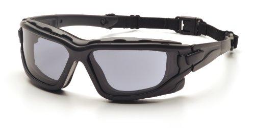 Pyramex Safety I-Force SB7020SDT - Occhiali protettivi ignifughi con effetto anti-appannamento, colore: Grigio