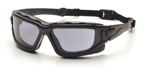 Pyramex Safety I-Force SB7020SDT Safety Goggles with Improved Anti-Fog Effect Fire-Resistant Grey