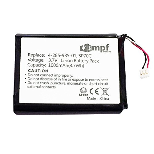 MPF Products 1000mAh SP70C 4-285-985-01 4-435-245-01 Battery Replacement Compatible with Sony PSP Street Portable Playstation PSP-E1000 PSP-E1002 PSP-E1003 PSP-E1004 PSP-E1008