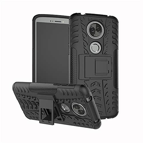 Lapinette Coque Compatible avec Motorola Moto G6 Play Antichoc - Coque Moto G6 Play Protection AntiChocs - Protection Motorola Moto G6 Play Coque Antichoc Rigide Modèle Spider Noir