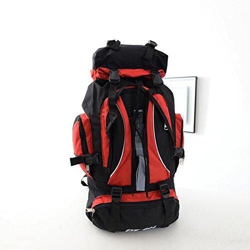 Nouveau voyage plein air sac à dos de randonnée sac à dos outdoor grand sac pour hommes et femmes , red