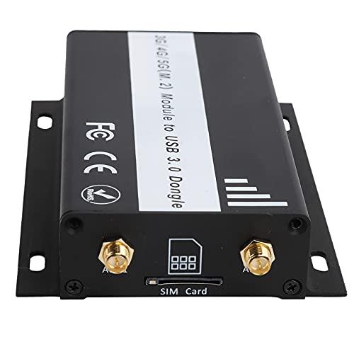 Adaptador de red M.2 Key B a USB Adaptador inalámbrico USB 3.0...