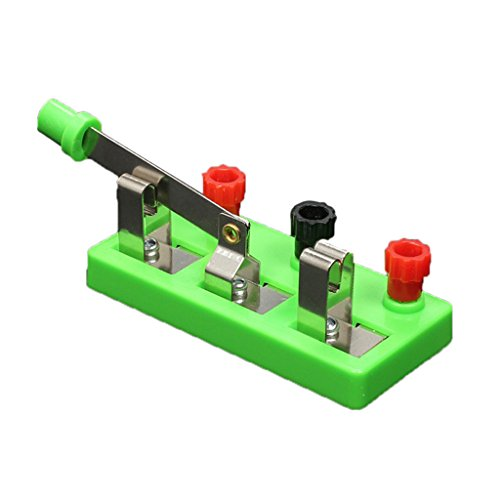 H HILABEE Interruptor Educativo de Un de Doble Tiro para La Enseñanza de La Física en El Laboratorio Escolar
