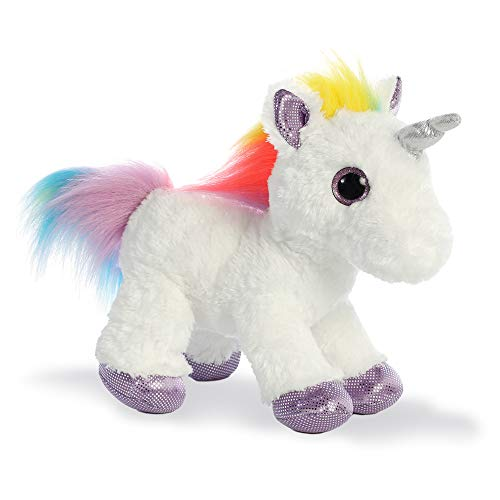 Aurora World 60857Sparkle Tales Dazzle Unicorno Peluche, Multicolore, 30,5cm