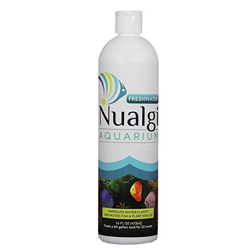 Nualgi Aquarium - Nutrition for Happier Aquariums (16oz) (Freshwater, 16oz)