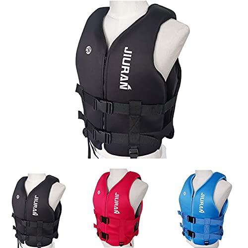 Life Jacket Profession Chaleco De Flotabilidad Portátil con Correa De Seguridad Ajustable para Kayak, Bote, Vela, Sup Y Otros Deportes Acuáticos
