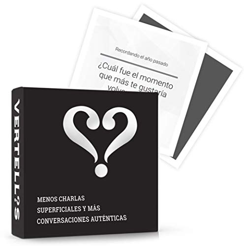 Vertellis Edición Clásica - Cartas de Preguntas para la Familia, Amigos -...