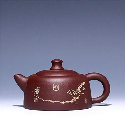 HePing Wu Teekanne Tee Erz lila Ton Teekanne Zhu Ni, usw. (Color : Purple mud)