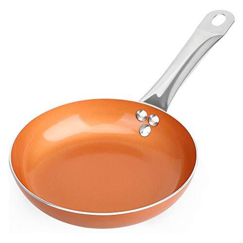 SHINEURI - Juego de ollas y sartenes de cobre para inducció