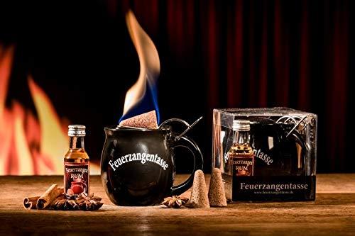 Feuerzangentasse 1er-Set black - premium (Acrylbox)