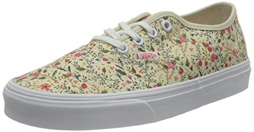 Vans Doheny Decon Canvas, Sneaker Mujer, (Ditzy Floral) Turtledove/White, 38.5 EU