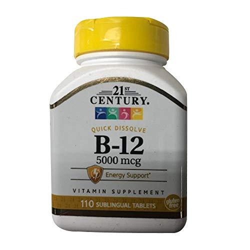 21st Century B12 5000mcg 110ct - 3 Bottles (3)
