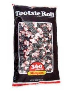 Tootsie Rolls Midgees Candy 360 Count