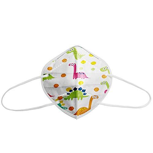Bambini Protezione viso, 95% filtrazione, a prova di polvere, 10/20/30/50/100 pezzi (10pz)