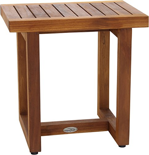 "AquaTeak The Original 18"" Spa Teak Shower Bench"